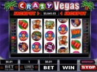 Play Crazy Vegas Slots now!